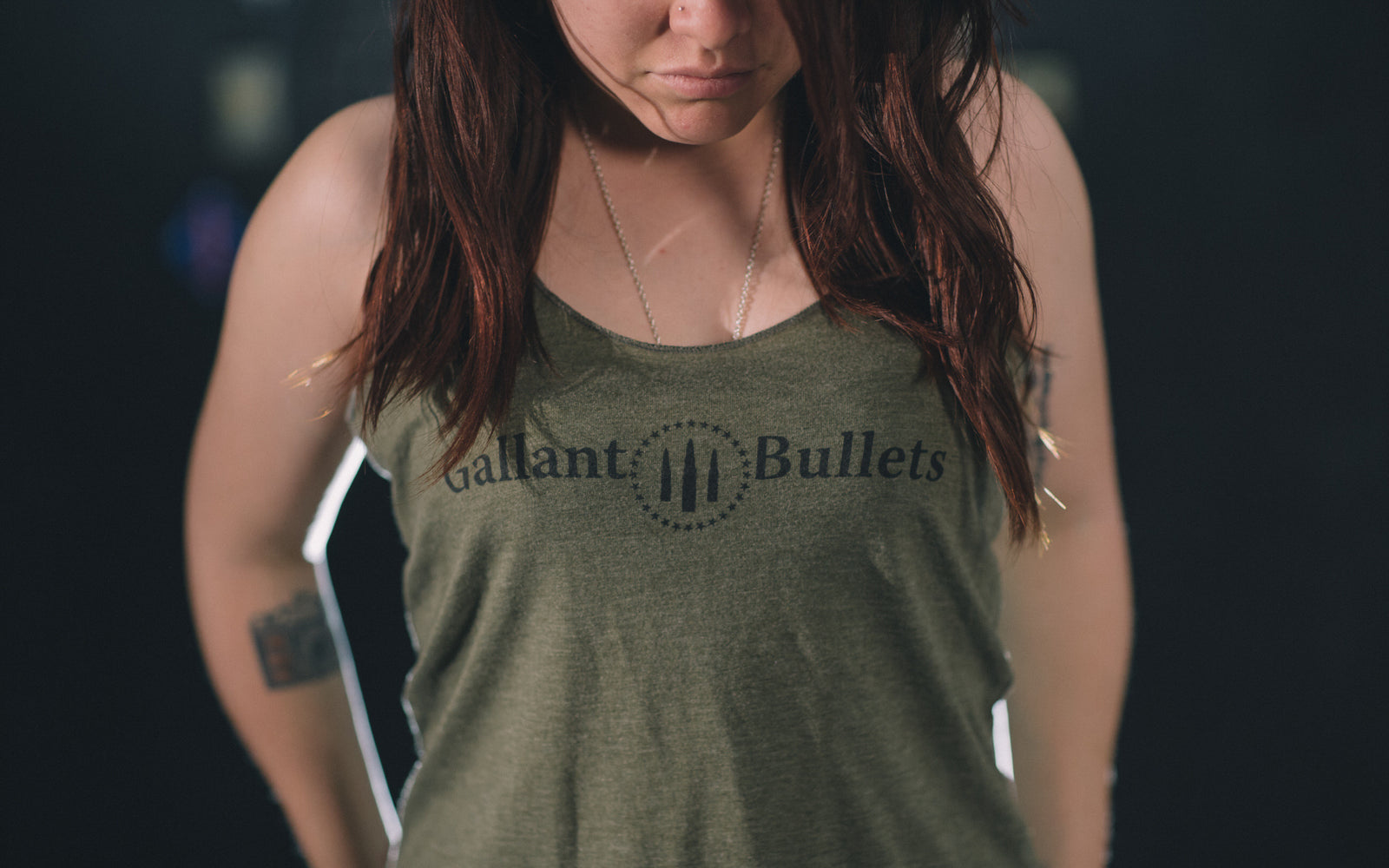 Gallant Bullets Women's Tank Top