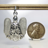 Bold Modern Design Guardian Angel Pendant Sterling Silver - Greg DeMark