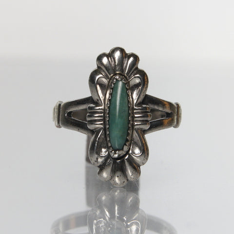 Vintage Southwestern Turquoise Ring By Bell Trading Post - Greg DeMark