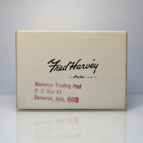Rare Fred Harvey And Cameron Trading Post Jewelry Gift Box - Greg DeMark