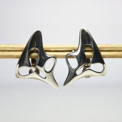 Georg Jensen Modernist Earrings Designed By Henning Koppel - Greg DeMark