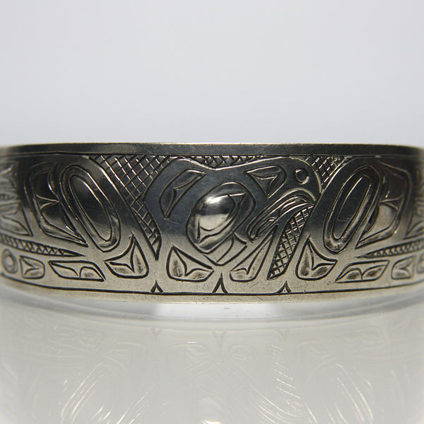 Vintage Northwest Coast Haida Bracelet Signed EK - Greg DeMark