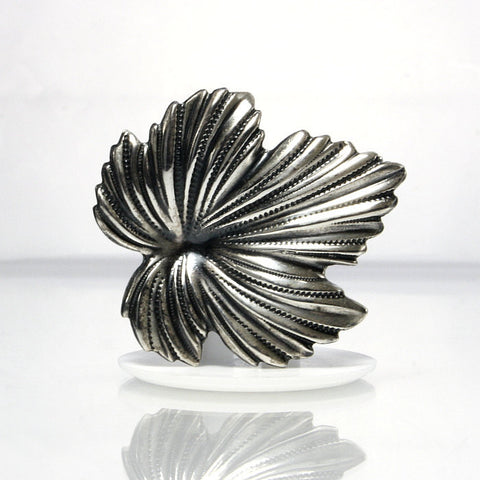 Vintage Sterling Leaf Brooch Jewelart - Greg DeMark