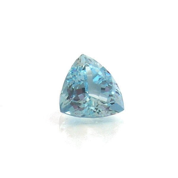 Natural Loose Trillion Cut Aquamarine Trillion Cut 3.25 Carats - Greg DeMark