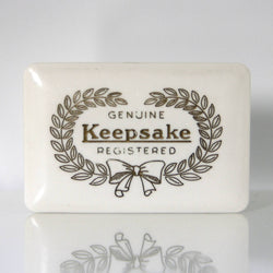 Keepsake Ring Box Vintage 1940's For Engagement Ring Or Wedding Bands - Greg DeMark