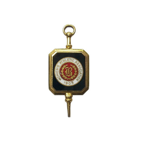 Antique 1905 Women's Athletic Association Key Fob Pendant - Greg DeMark