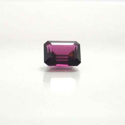 Loose Gemstone Emerald Cut Rhodolite Garnet 6.03 Carats - Greg DeMark