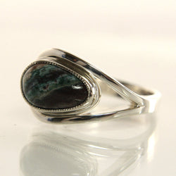 Handmade Sterling Silver Gemstone Ring Size 7.25 - Greg DeMark