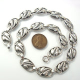 Vintage Sterling Silver Danecraft Necklace 15 Inches Long - Greg DeMark