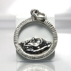 Handmade Sterling Silver Pikes Peak Mountain Pendant - Greg DeMark