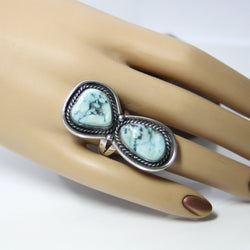 Large Southwestern Turquoise Ring - Greg DeMark