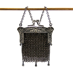 Antique Chatelaine Coin Purse - Greg DeMark