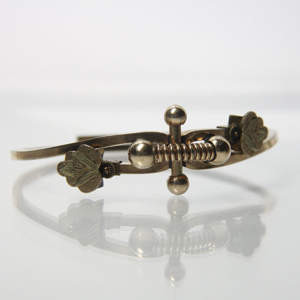 Antique Victorian Bypass Bracelet - Greg DeMark