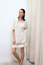 Interlock Dress | Cream