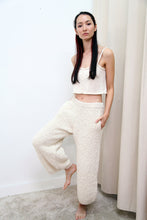 Textured Wool Trouser | Cream