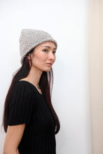 Textured Wool Hat | Cloud Grey