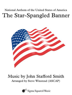 The Star-Spangled Banner for Flute Quartet/Choir