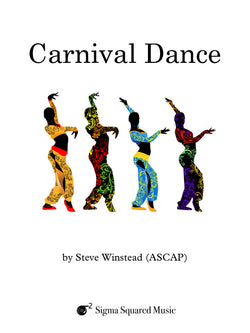 Carnival Dance for Saxophone Quintet