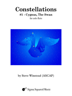 Constellations: #1 - Cygnus, The Swan for Solo Flute