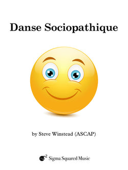 Danse Sociopathique for Clarinet Quintet/Choir