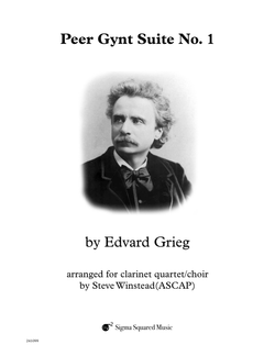 Peer Gynt Suite No. 1 for String Quartet