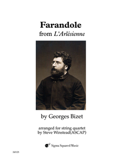 Farandole from L'Arlesienne for String Quartet