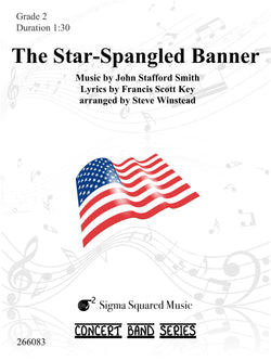 The Star-Spangled Banner for Concert Band