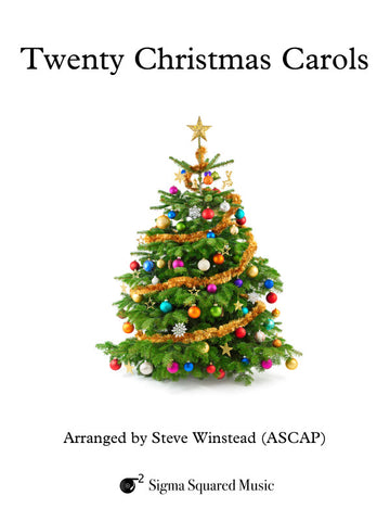 Twenty Christmas Carols for Flute Quartet/Choir