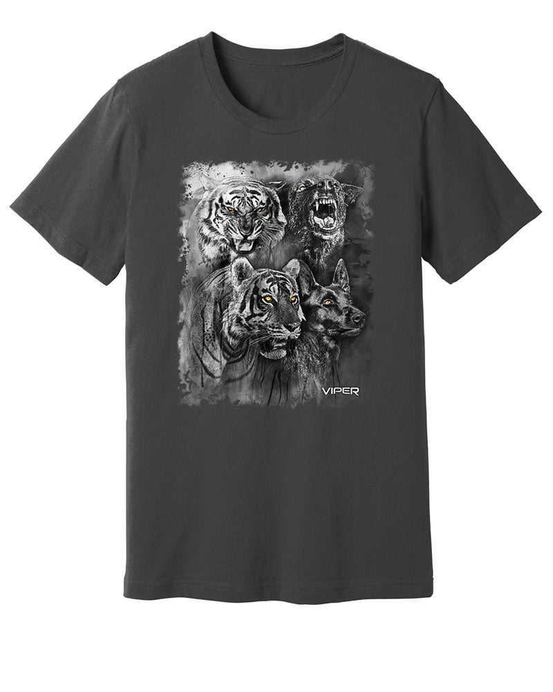 Dutch Shepherd & Tiger - Spirit Animals - Shirt - Design 15