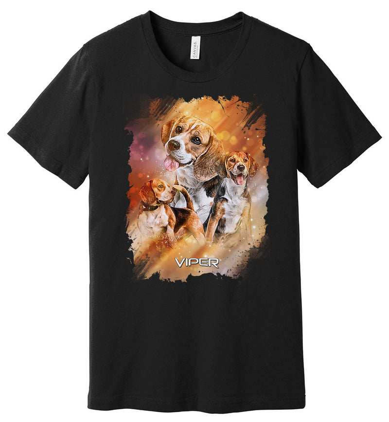 Beagle - Starlight Series - Shirt - Design 25