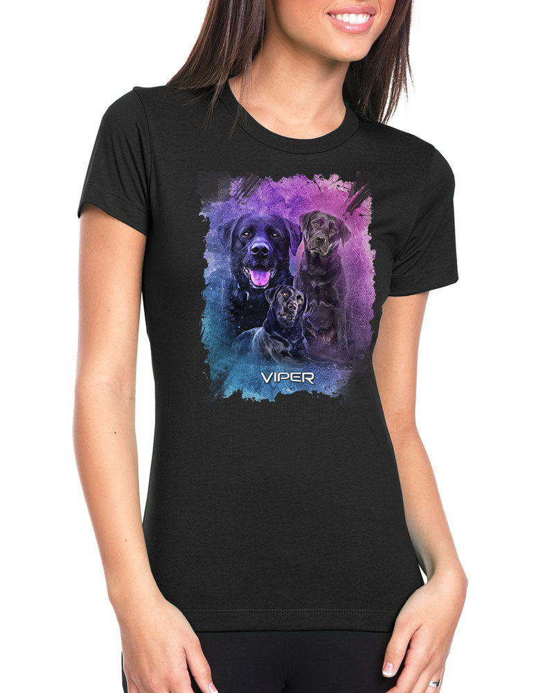 Black Labrador - Starlight Series - Shirt - Design 26