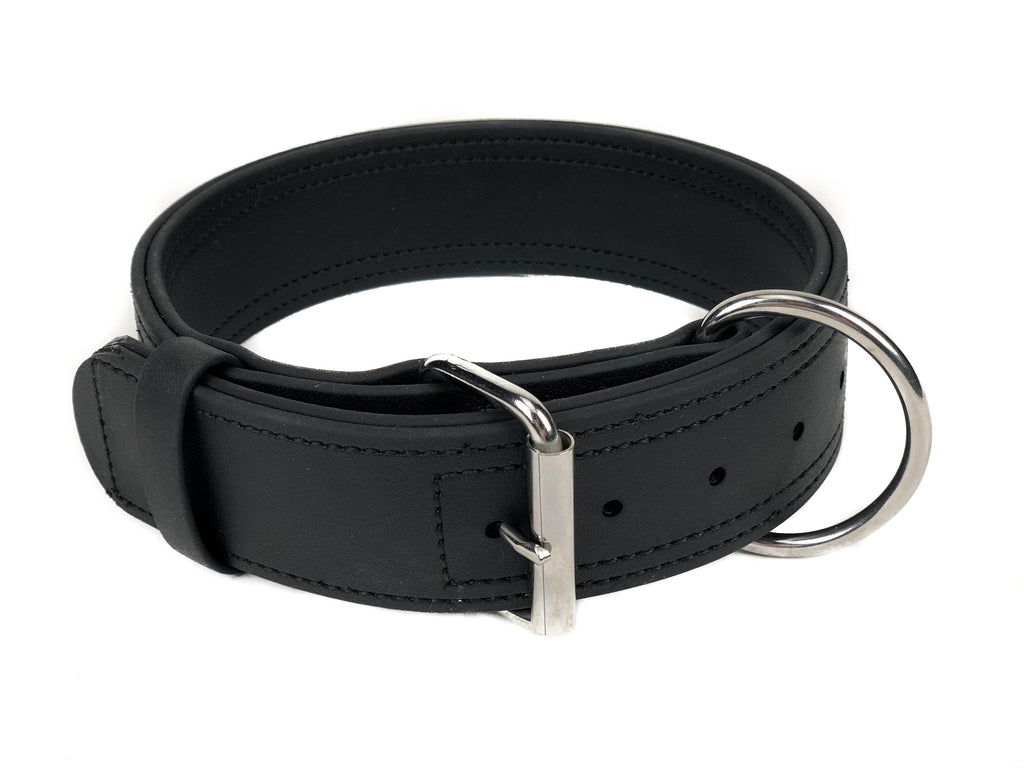 Viper Biothane Working Dog Collar - Stainless Steel Hardware