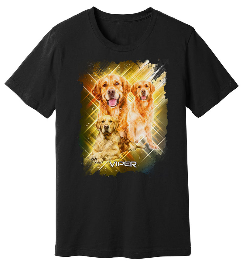 Golden Retriever - Starlight Series - Shirt - Design 32