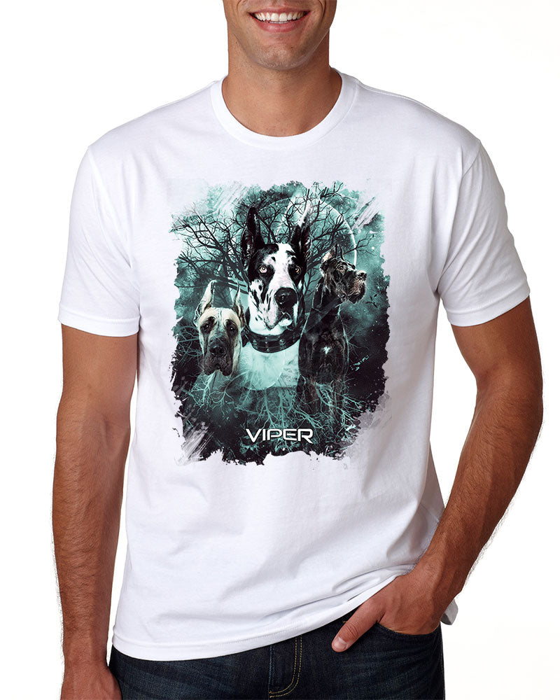 Great Dane Cropped - Starlight Series - Shirt - Design 33