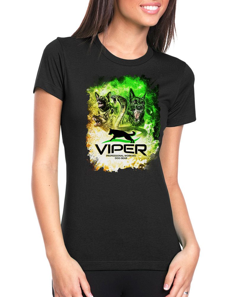 German Shepherd & Snake - Official Viper - Special Edition - Design 35