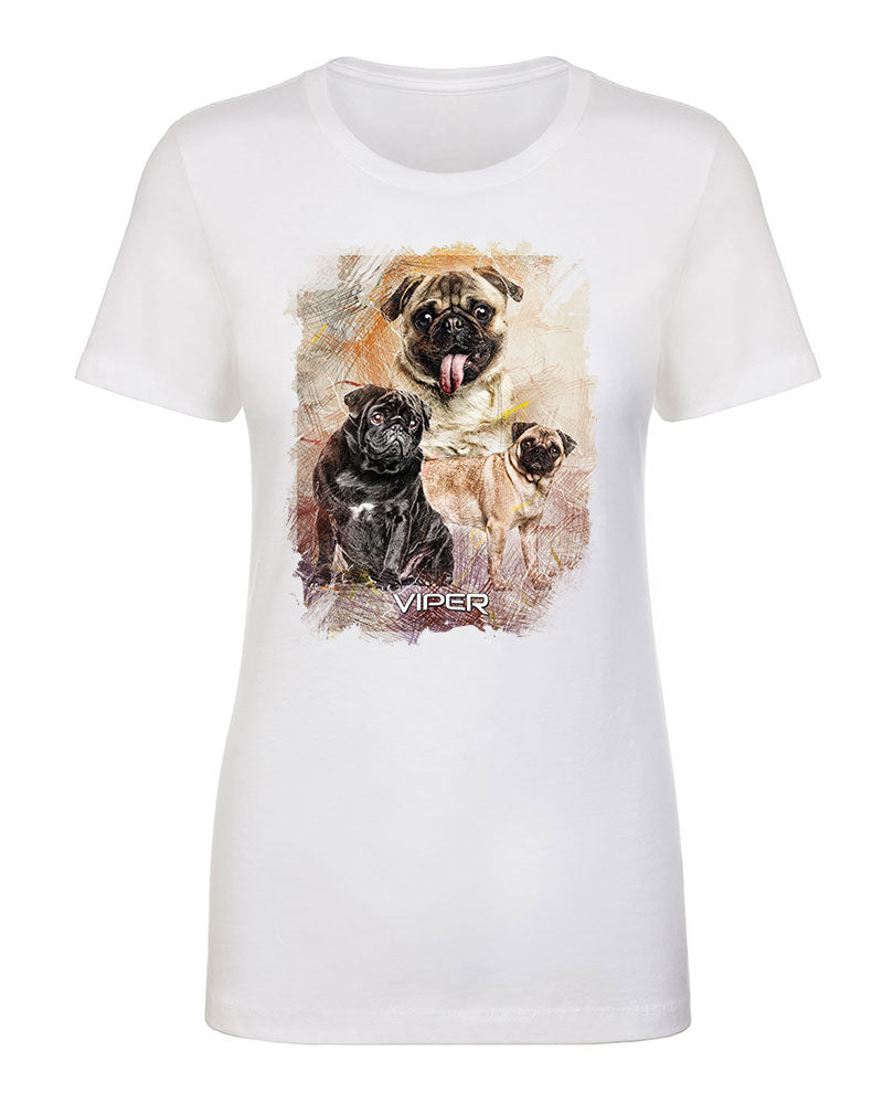 Pug - Starlight Series - Shirt - Design 36