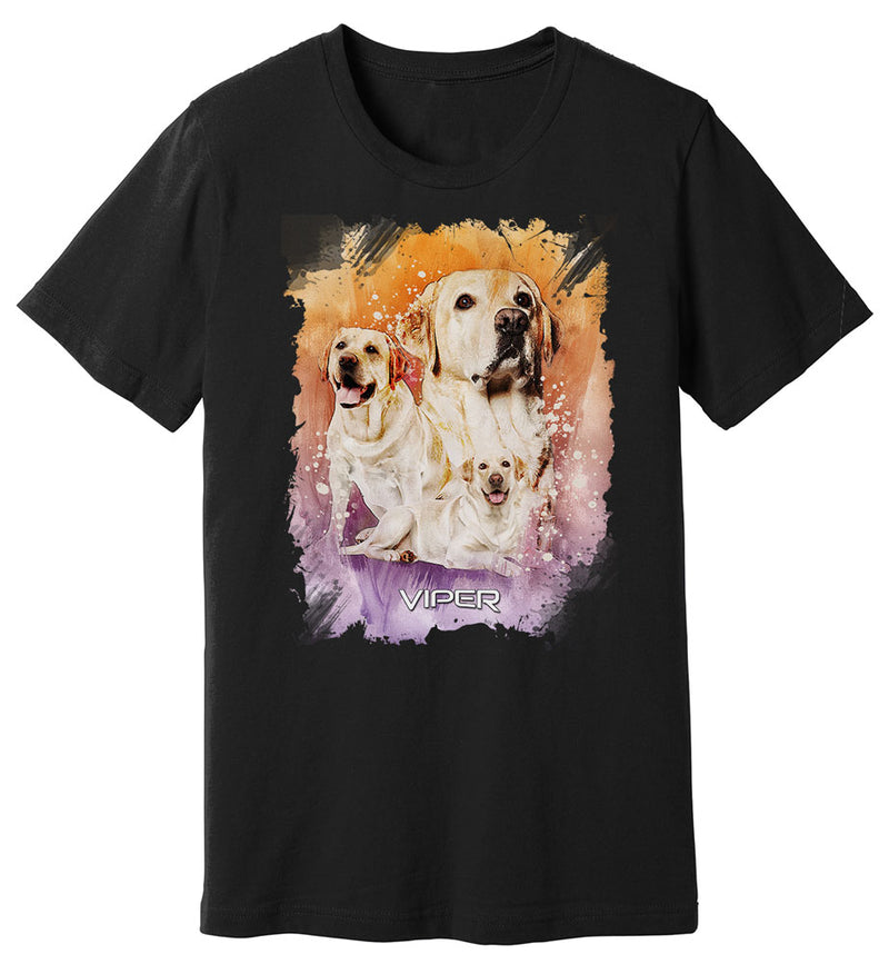 Yellow Labrador - Starlight Series - Shirt - Design 39