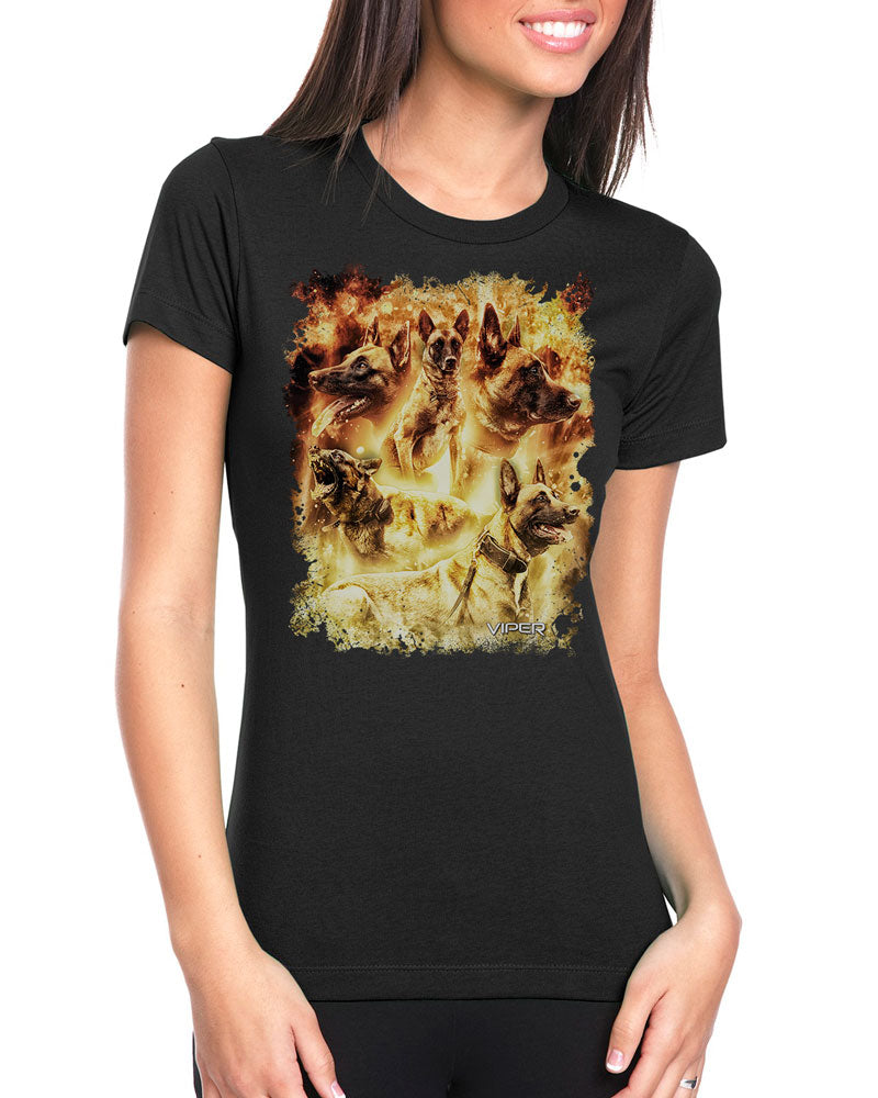 Belgian Malinois - Inferno - Shirt - Design 3