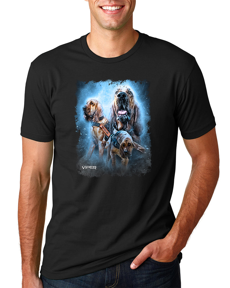 Search and Rescue - Bloodhounds - Shirt - Design 43