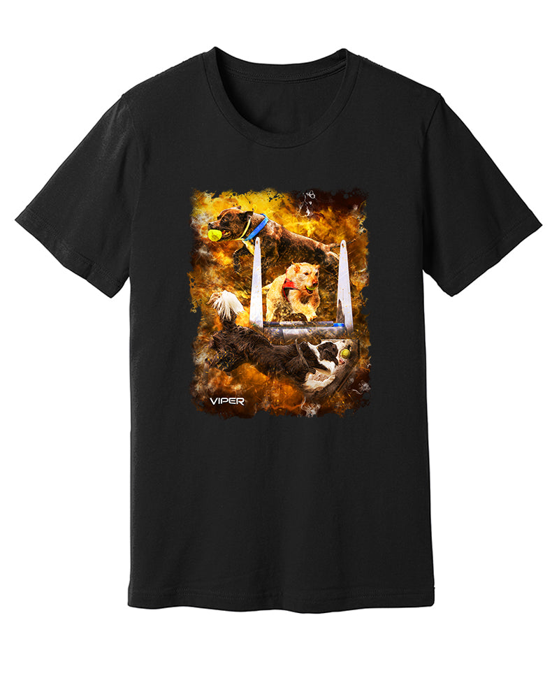 Flyball - Inferno - Shirt - Design 50