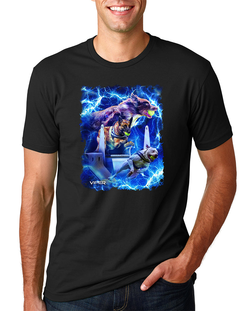 Flyball - Storm - Shirt - Design 51
