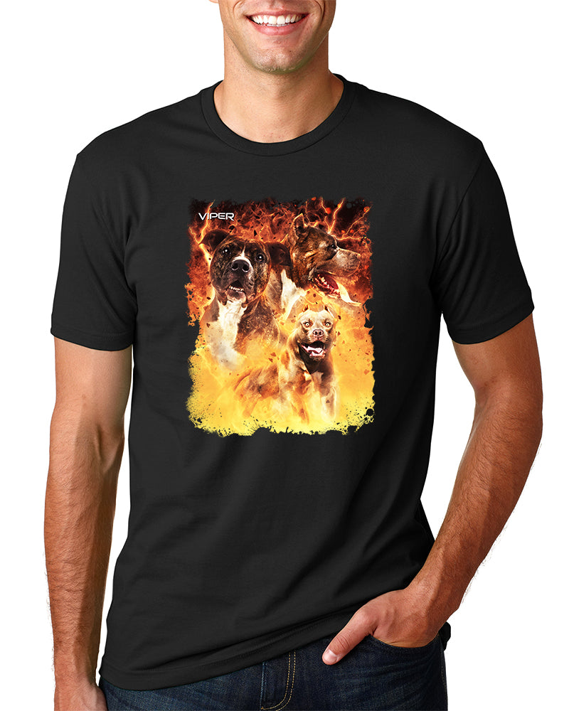 Bully - Inferno - Shirt - Design 54