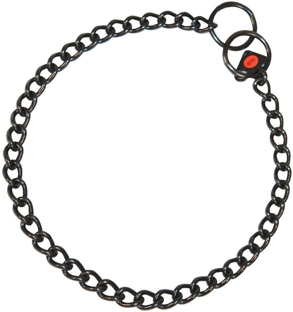 Herm Sprenger Black Stainless Streel Choke Chain Collar 2.5mm