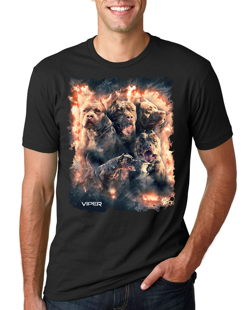 Pitbull - Inferno - Shirt - Design 8
