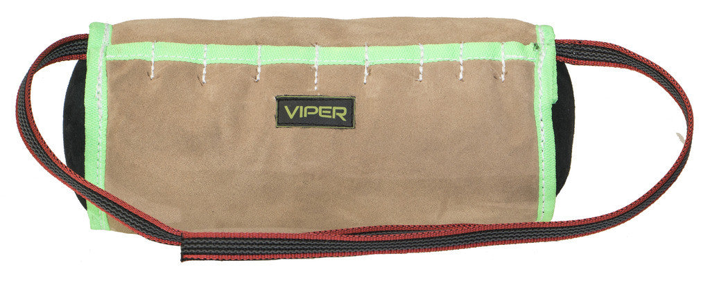 Viper Leather Cylinder Shape Soft Bite Roll