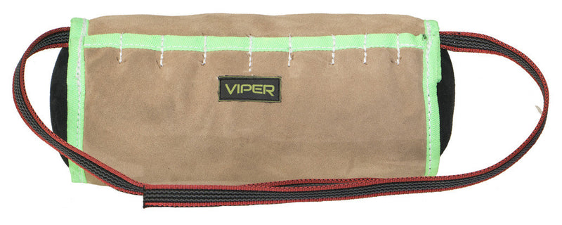 Viper Leather Cylinder Shape Soft Bite Pillow