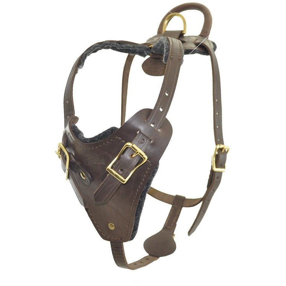 Viper Invader Leather Working Dog Harness