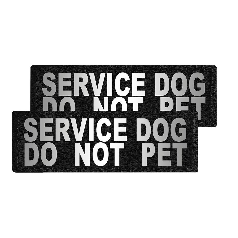 Dogline Removable Reflective Patches (Set of 2)