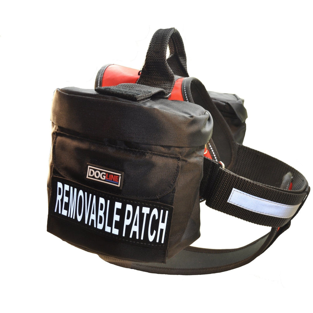 Dogline Removable Side Utility Bags for Unimax Harness