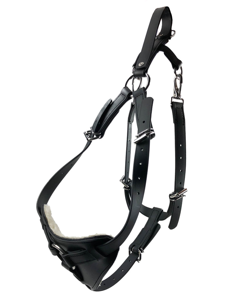 Viper Surge Biothane Working Dog Harness - Stainless Steel Hardware